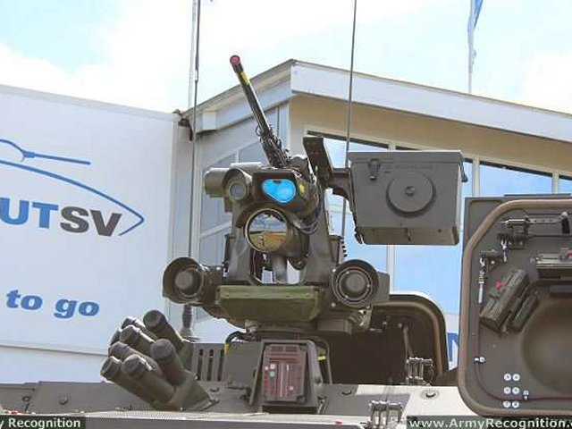 Kongsberg signs production contract for delivery of Protector RWS for Scout SV programme 640 001