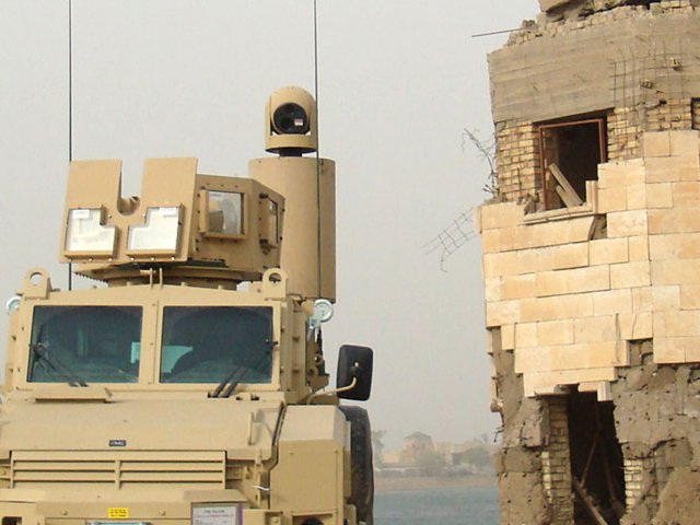 Lockheed Gyrocam Sensor System certified as standard sensor package on US MRAP vehicles 640 001