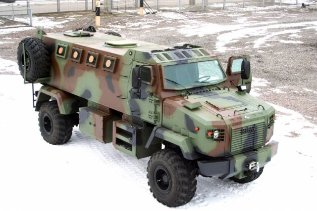 New KrAZ-5233 Shrek 4x4 armored vehicles of Ukrainian army ready to be deployed in the frontline 640 001