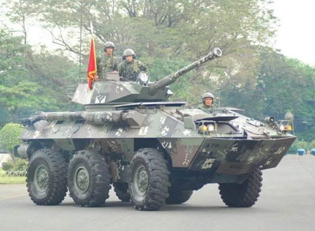 Philippine Marine Corps to upgrade turrets of its armored fighting vehicles 640 001