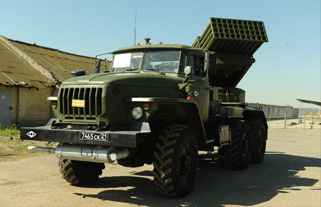 Russia Eastern Military District now equipped with 20 Tornado G Multiple Launch Rocket Systems 640 001