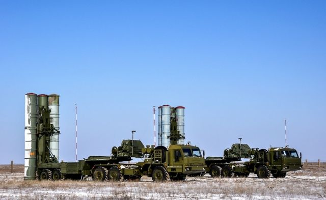 "The Russian Baltic Fleet's air defense force repelled an airstrike using S-300 air defense systems, the Western Military District's press service announced. ""The opposing force's aircraft have been successfully destroyed with a volley of S-300 anti-air missiles,"" the release states."