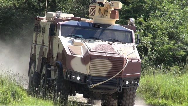Czech Ministry of Defence announced tender for the supply of up to 62 MRAP vehicles 640 002