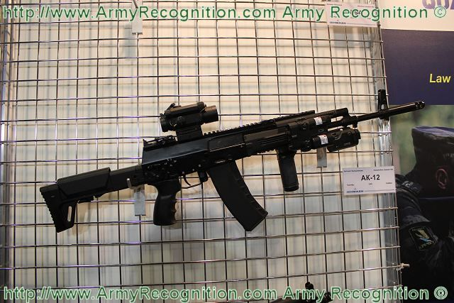 Izmash AK 12 assault rifle likely to be selected for future Ratnik infantry combat system 640 001