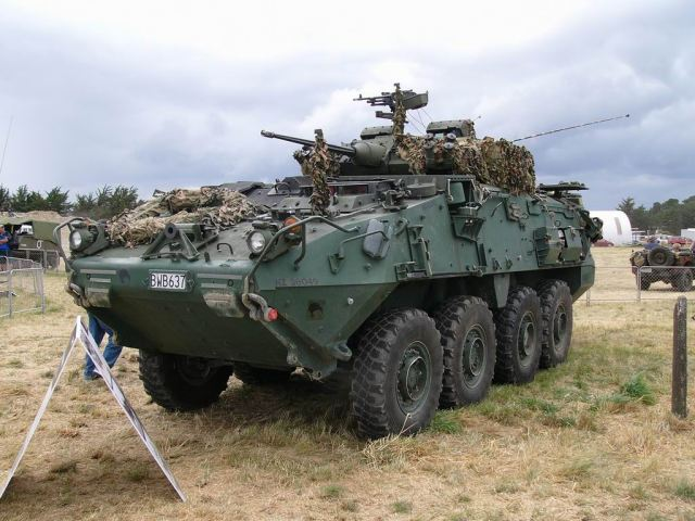 New Canadian LAV III APC purchased by Colombia will be deployed on the border with Venezuela 640 001