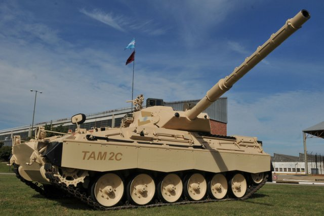 Argentina to Upgrade 74 TAM Main Battle Tank with Israel 640 001