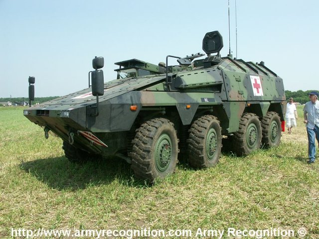 Artec GmbH delivers the 300th Boxer multirole armoured fighting vehicle 640 001
