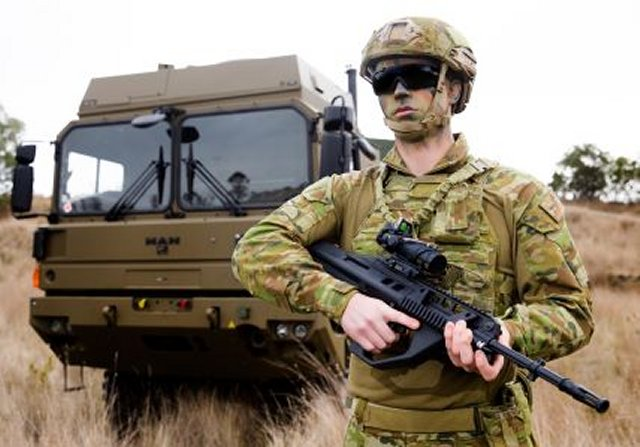 Australian Defence Force provided with EF88 rifle to maintain small arms manufacturing in Australia 640 001