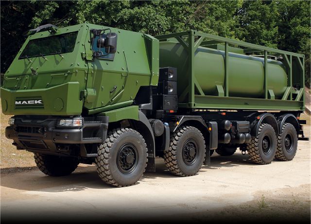 Dumur Industries from Canada will deliver armoured cabs for new Canadian army trucks 640 001
