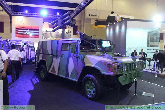 GK-M1  Lightweight Multiple Missile Launcher STARStreak air defense missile system Malaysia 640 001