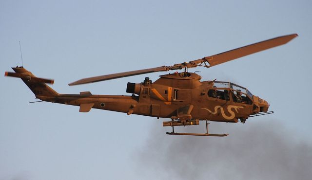 Jordan secretly received Cobra helicopters from Israel to fight ISIS