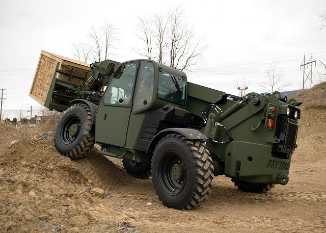 U.S. Marine Corps Systems Command has awarded Oshkosh Defense, LLC, an Oshkosh Corporation (NYSE: OSK) company, a $54 million contract to modernize its fleet of Extendable Boom Forklifts (EBFL). Deliveries will begin in 2016.