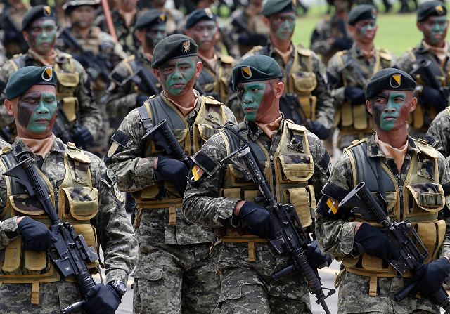 Philippines could spend a record defense budget for netx year with $552 million 640 001