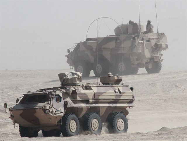 Rheinmetall of Germany contract to supply 12 Fuchs 2 NBC 6x6 reconnaissance vehicles to Kuwait 640 001