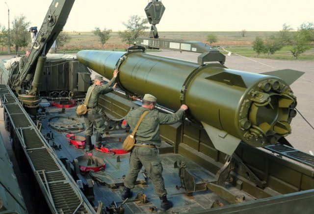 Russia holding talks on supplies of Iskander-M SS-26 Stone ballistic missile systems to Armenia 640 001