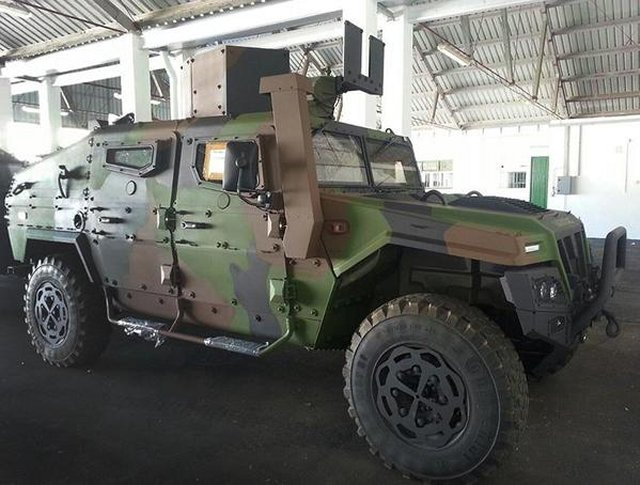 Spanish Marines corps received its first two Uro VAMTAC ST5 BN3  tactical vehicles 640 001