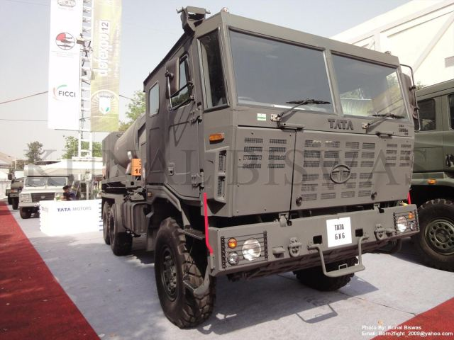 Tata Motors contract to supply around 1200 6x6 military trucks to Indian Army 640 001