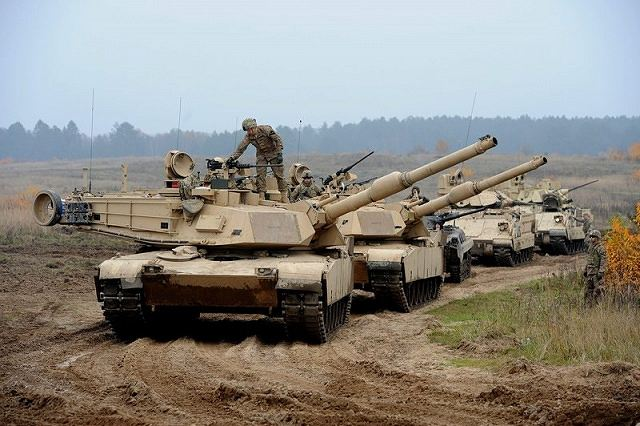United States plan to send a brigade of tanks in Germany to have quick response capabilities 640 001