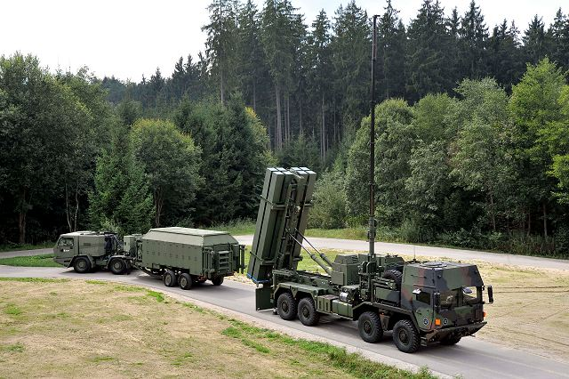 Armed forces of Germany want to order a total of 8 to 10 units of MEADS air defense missile system 640 001