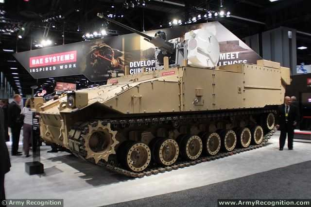 BAE Systems GDLS to Develop Design Concepts for the US Future Fighting Vehicle 640 001