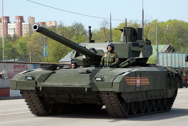 China and India have expressed interest to purchase T-14 Armata new Russian-made MBT 640 001