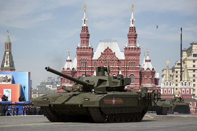 Frontal armour of the new Russian-made T-14 Armata tank could defeat 120mm uranium rounds 640 001