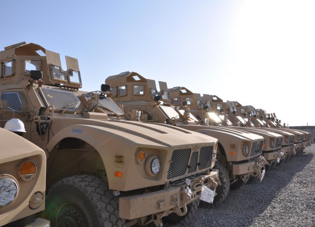 Oshkosh Defense to reset additional batch of US Army s MRAP All Terrain Vehicles 640 001