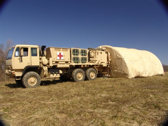 Mobile Medical Shelter : Smiths detection inc announces m order from u s army