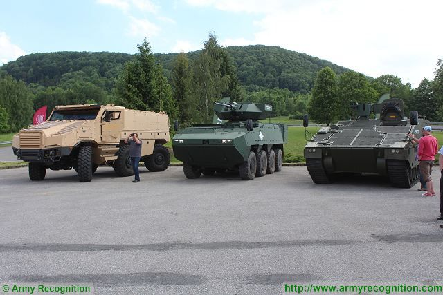 TATRA Excalibur Group armoured tactical Vehicle trucks live demonstration test drive Czech defense industry 640 001