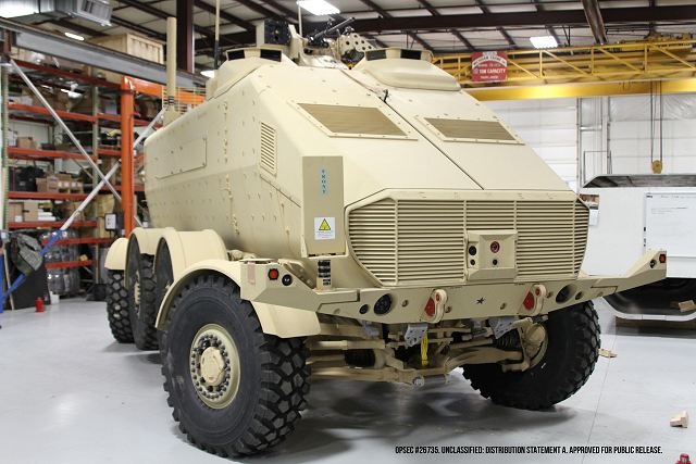 US Army new concept of CAMEL Advanced Military Explosion-mitigating Land Demonstrator 640 001