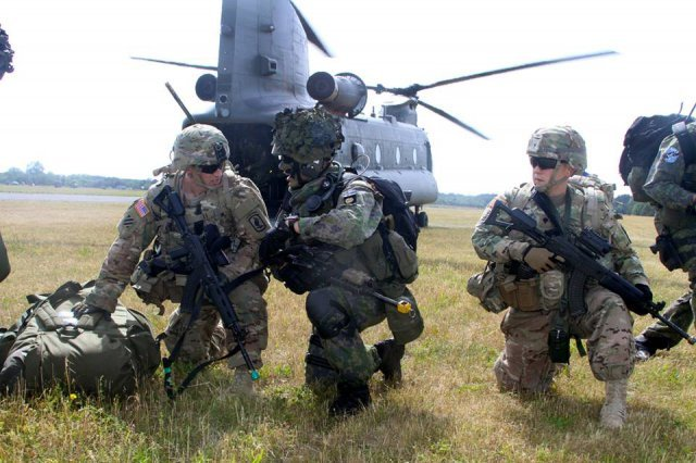 U.S. to provide troops, weapons and Special Forces to NATO Very High Readiness Joint Task Force