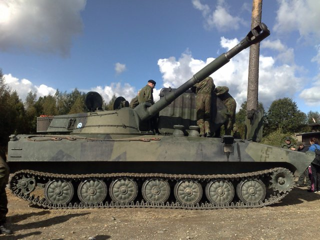 Finland reportedly plans to purchase new heavy self-propelled artillery