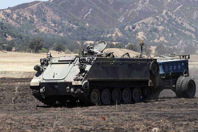 U S  Army plans to replace its fleet of M113 tracked APC with new