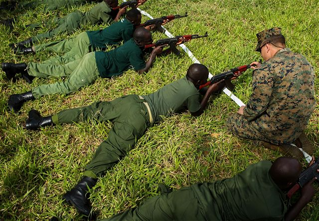 US Marines conducted training of Tanzanian rangers to fight illicit trafficking 640 001