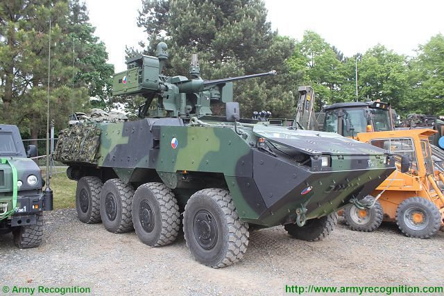 The Czech government has approved a list of 11 tenders, worth several billions of crowns, that the Defence Ministry will declare this year, including a planned acquisition of more than 60 armoured vehicles. The Czech Defence Ministry wants to obtain 20 wheeled armoured vehicles worth 1.3 billion crowns. The vehicles should be delivered in 2018-2020 and the tender will be launched in the summer.