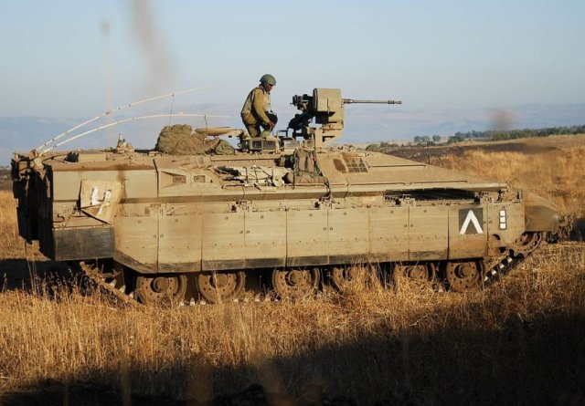 General Dynamics to provide Israel with Namer APC production kits 640 001
