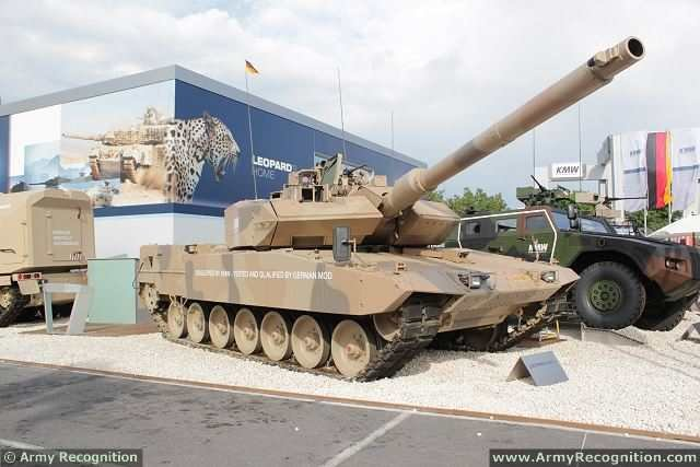 Germany France to Jointly Develop Leopard 3 Main Battle Tank 640 001