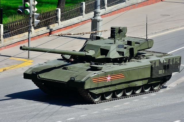 India could be the first foreign buyer of the new Russian-made T-14 Armata main battle tank 640 001