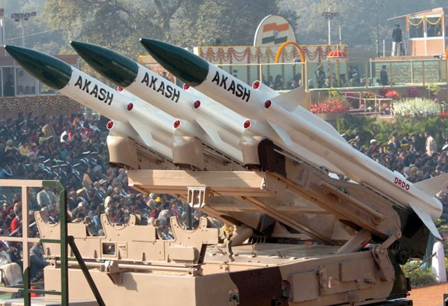 Indian Army officially inducts the Akash air defense missile system 640 001