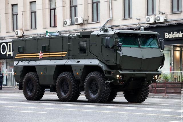 Kamaz Typhoon-K 6x6 MRAP armoured vehicle ready for final operational service tests in 2015 640 001
