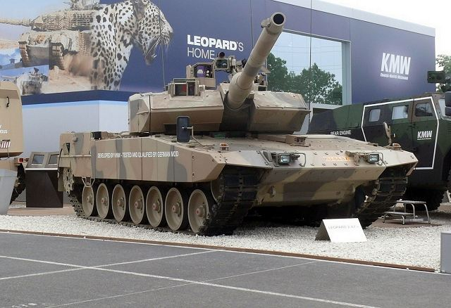 Nexter of France and Kraus-Maffei Wegmann of Germany could developed new Leopard 3 tank 640 001