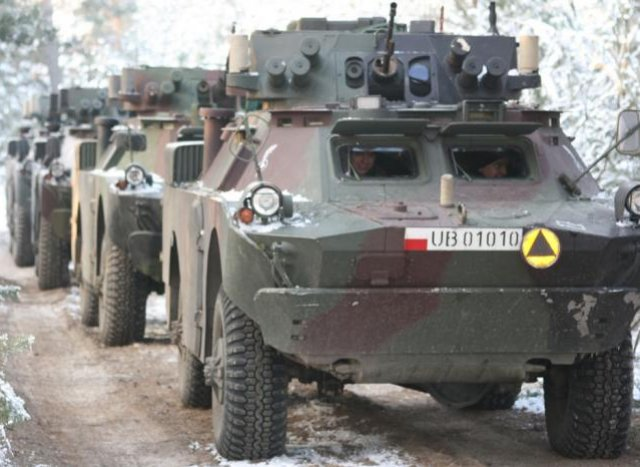 PGZ Orbum and Rheinmetall to jointly design a new-amphibious wheeled armoured carrier 640 001