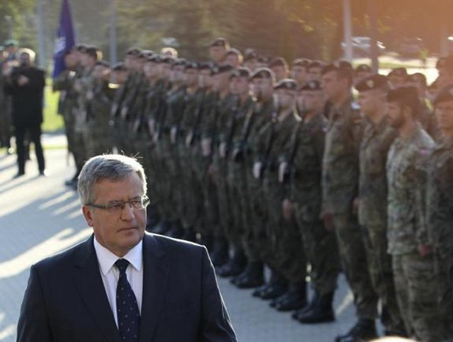 Poland President signed resolution on establishing the Polish Lithuanian Ukrainian brigade 640 001
