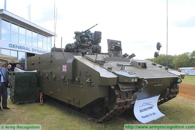 Rolls-Royce has signed a contract to deliver engine for Scout SV tracked vehicle of British army 640 001