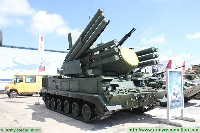Russia could develop a special tracked version of Pantsir air defense system for Arctic region 640 001