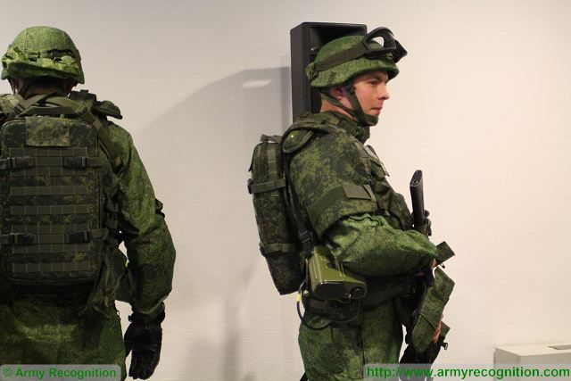 Russian army has received the first batch of Ratnik future soldier combat equipment system 640 001