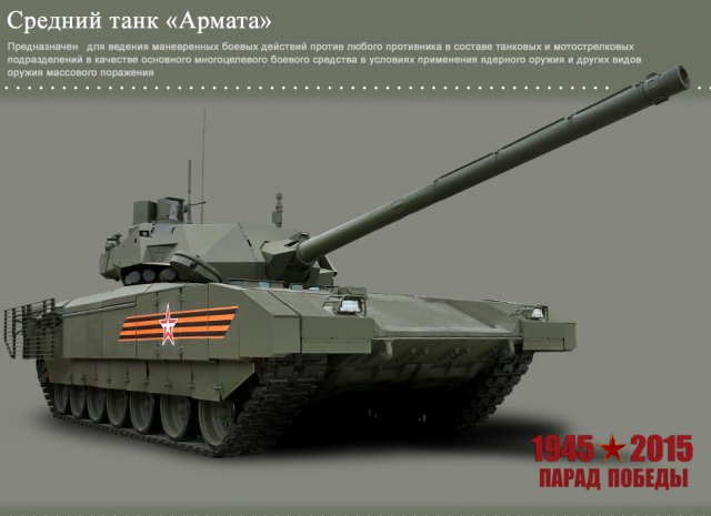 Russian defense ministry unveiled turret new vehicles victory day parades 640 001