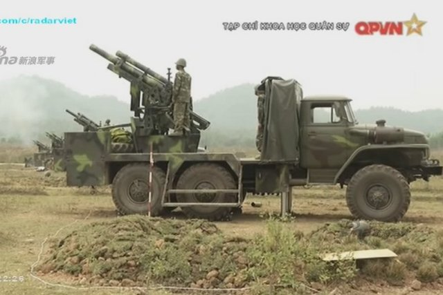 Vietnam Has Developed a 105mm Self-Propelled Howitzer on a Ural-375D Chassis