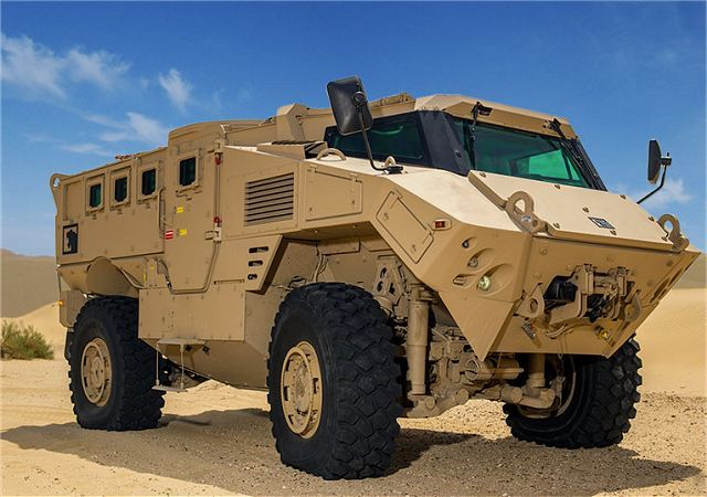 Denel from South Africa will develop and supply N35 armoured vehicles with NIMR of UAE 640 001