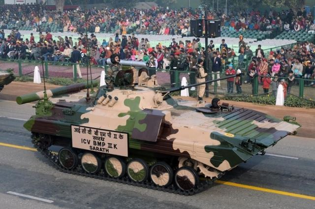 India approved production of 149 BMP-2K tracked command post armoured vehicles under Russian license 640 001